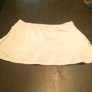 Nike tennis skirt sz large